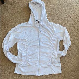 Cream color jacket by CHAMPION (E)